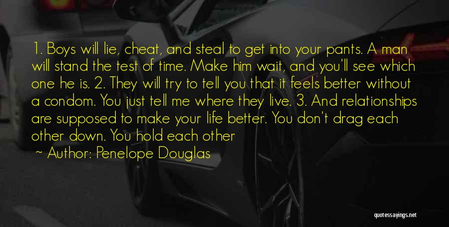 Hold It Down For My Man Quotes By Penelope Douglas