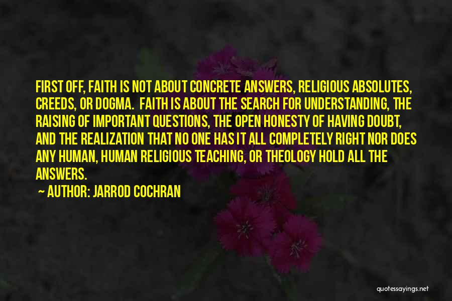 Hold Onto Faith Quotes By Jarrod Cochran