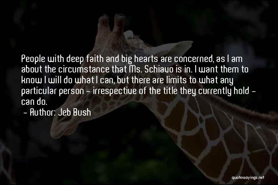 Hold Onto Faith Quotes By Jeb Bush