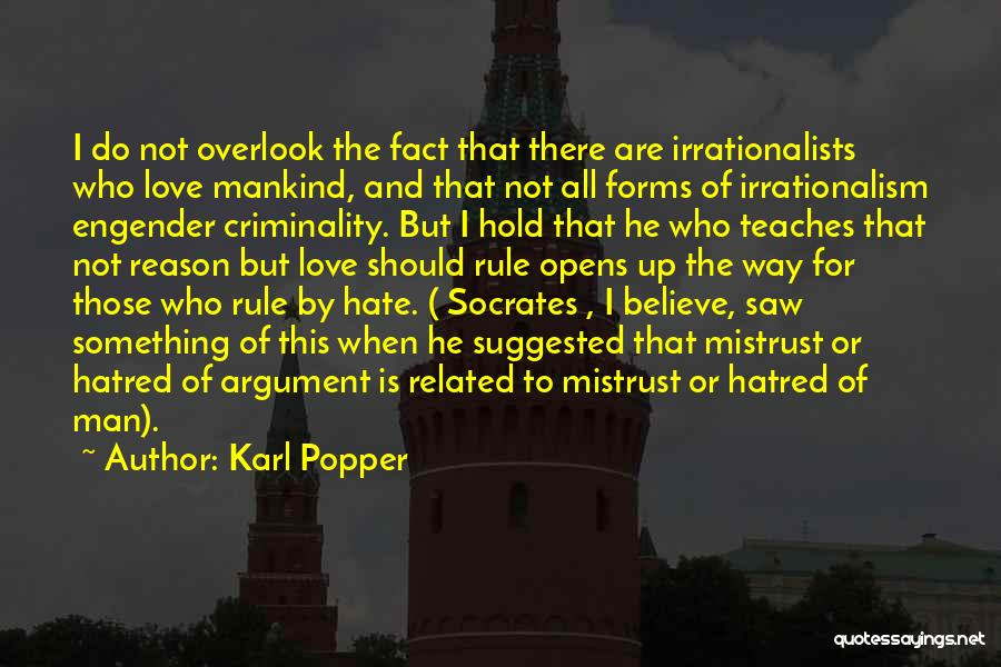Hold Up Quotes By Karl Popper