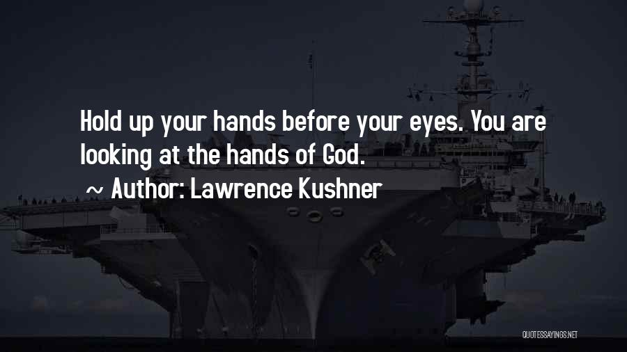 Hold Up Quotes By Lawrence Kushner