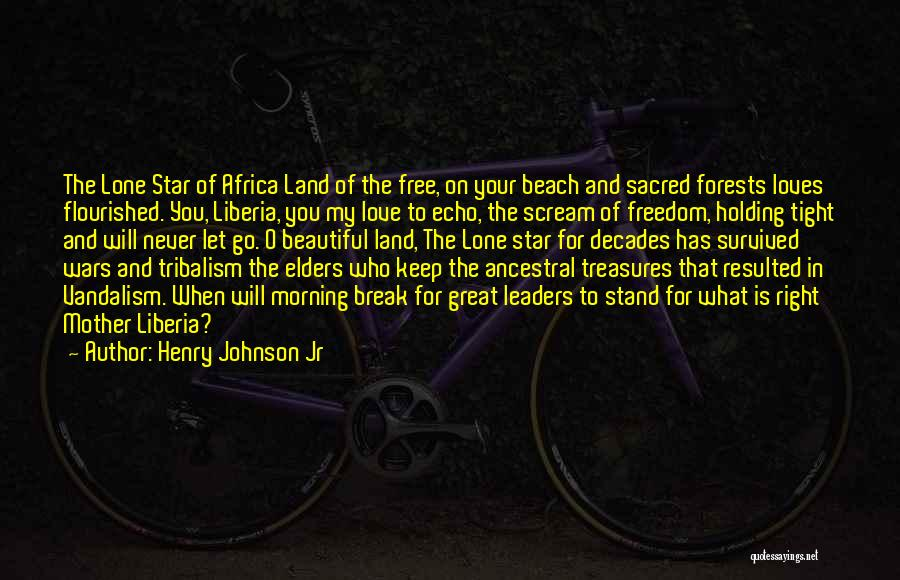 Holding Tight Quotes By Henry Johnson Jr