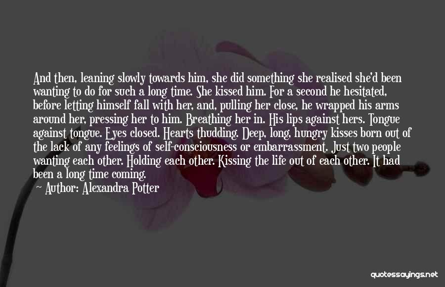 Holding Your Tongue Quotes By Alexandra Potter