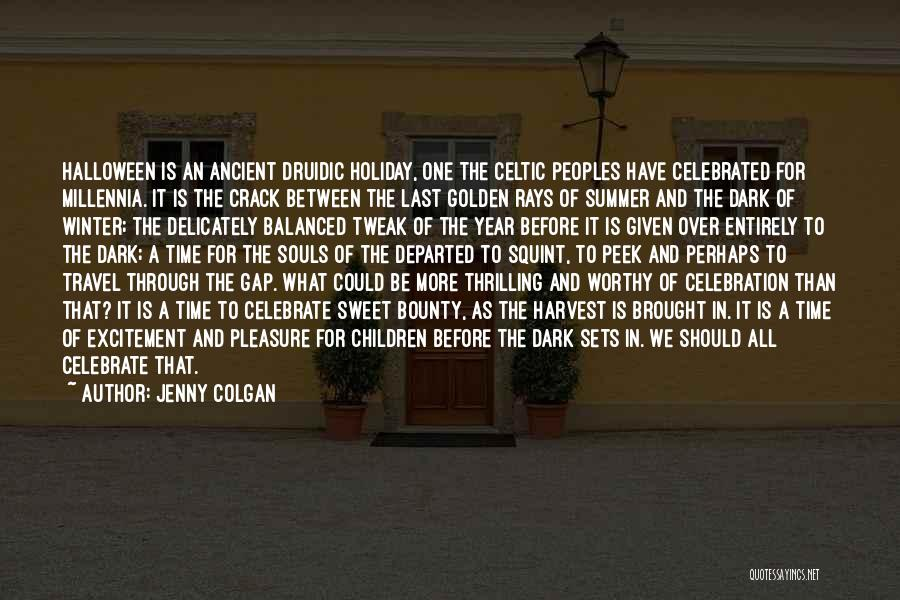 Holiday Travel Quotes By Jenny Colgan