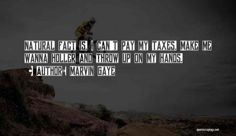 Holler Quotes By Marvin Gaye