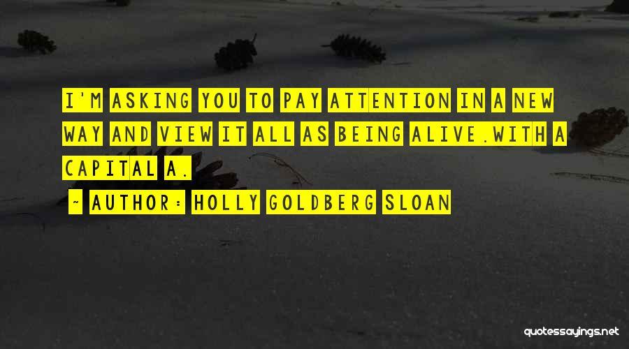 Holly Goldberg Sloan Quotes 1589224