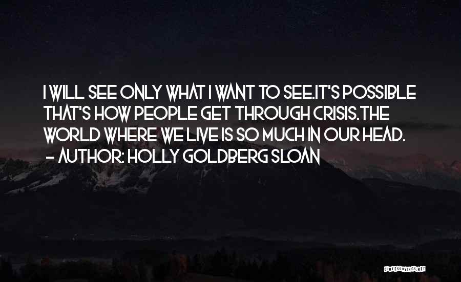 Holly Goldberg Sloan Quotes 1632691