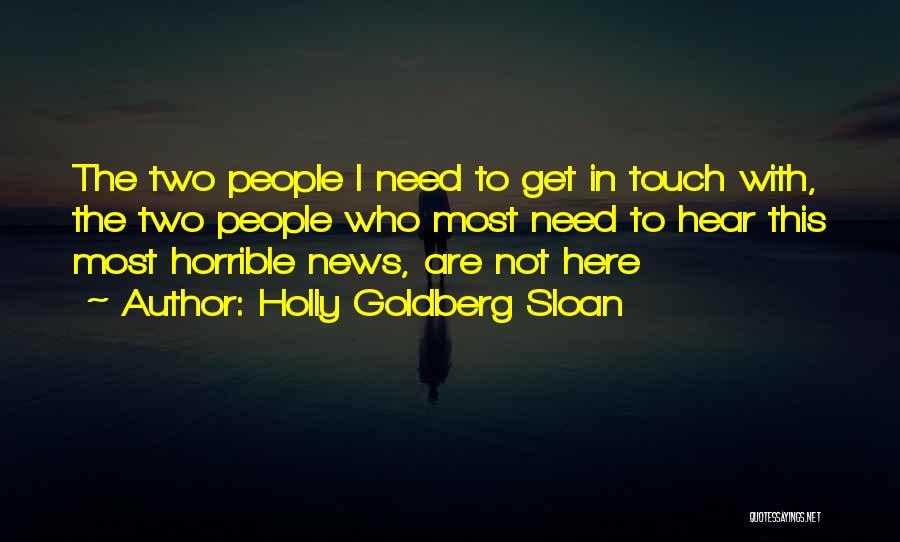 Holly Goldberg Sloan Quotes 681090