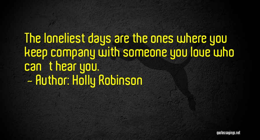 Holly Robinson Quotes 416776