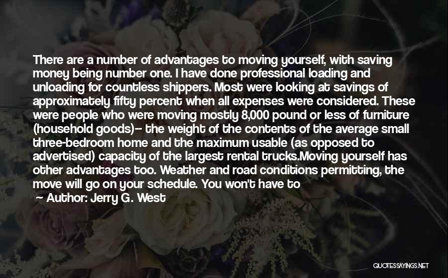 Home Contents Quotes By Jerry G. West