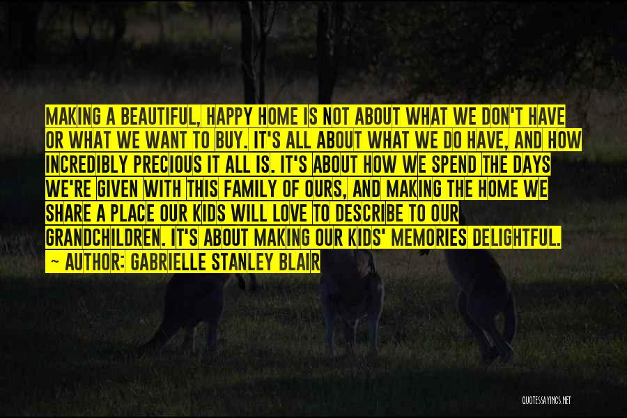 Home Is Beautiful Quotes By Gabrielle Stanley Blair