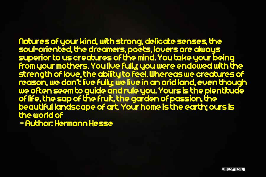 Home Is Beautiful Quotes By Hermann Hesse