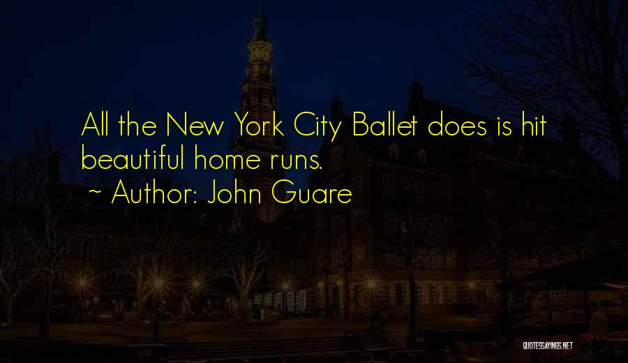 Home Is Beautiful Quotes By John Guare
