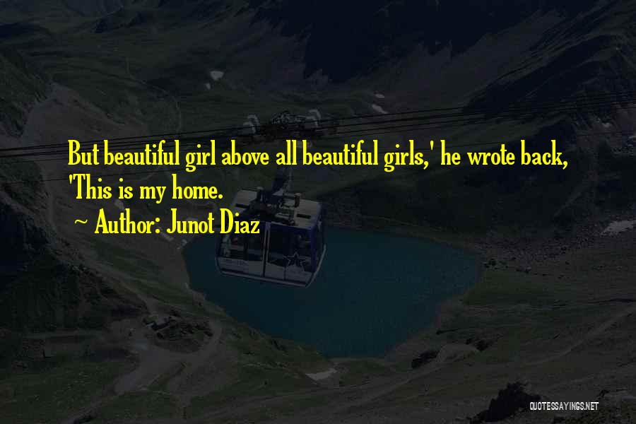 Home Is Beautiful Quotes By Junot Diaz