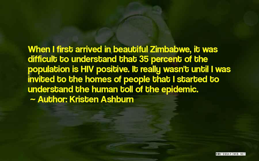 Home Is Beautiful Quotes By Kristen Ashburn