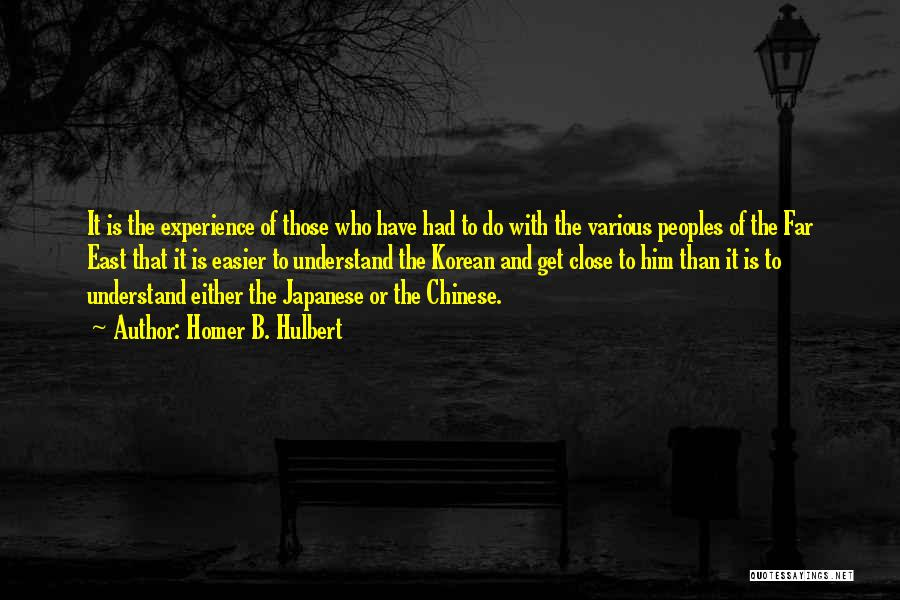 Homer B. Hulbert Quotes 1516073