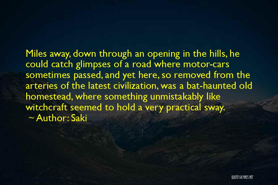 Homestead Quotes By Saki