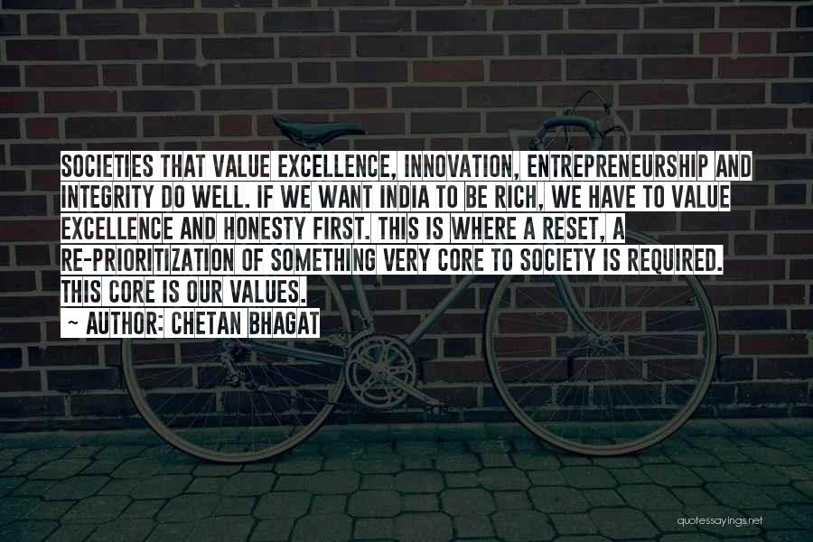 Honesty And Integrity Quotes By Chetan Bhagat