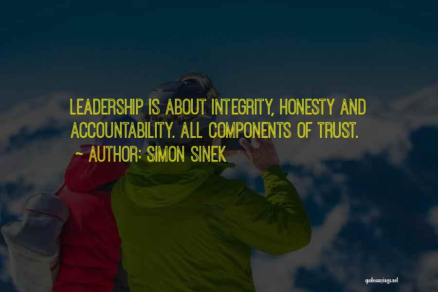 Honesty And Integrity Quotes By Simon Sinek