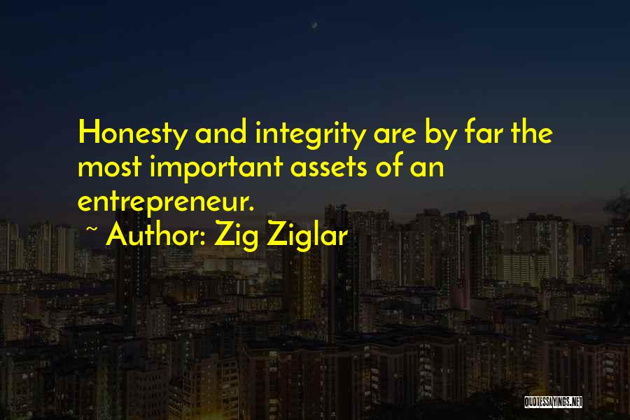 Honesty And Integrity Quotes By Zig Ziglar