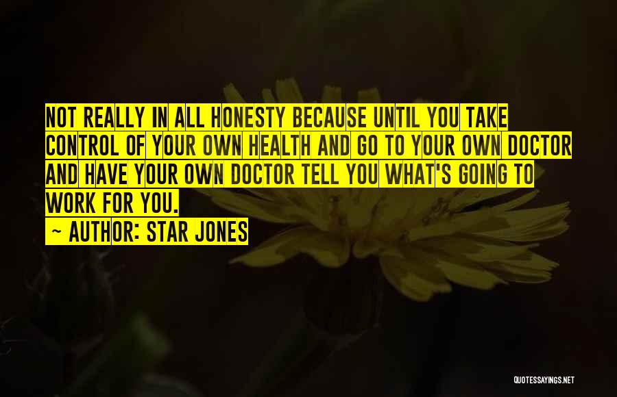 Honesty At Work Quotes By Star Jones