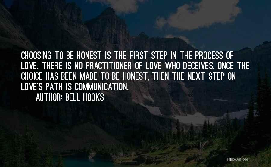 Honesty In Love Quotes By Bell Hooks