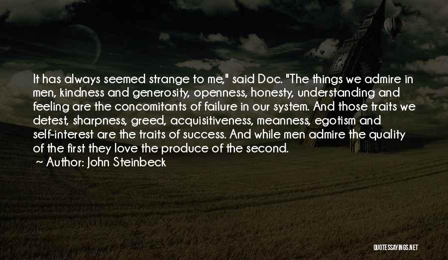 Honesty In Love Quotes By John Steinbeck