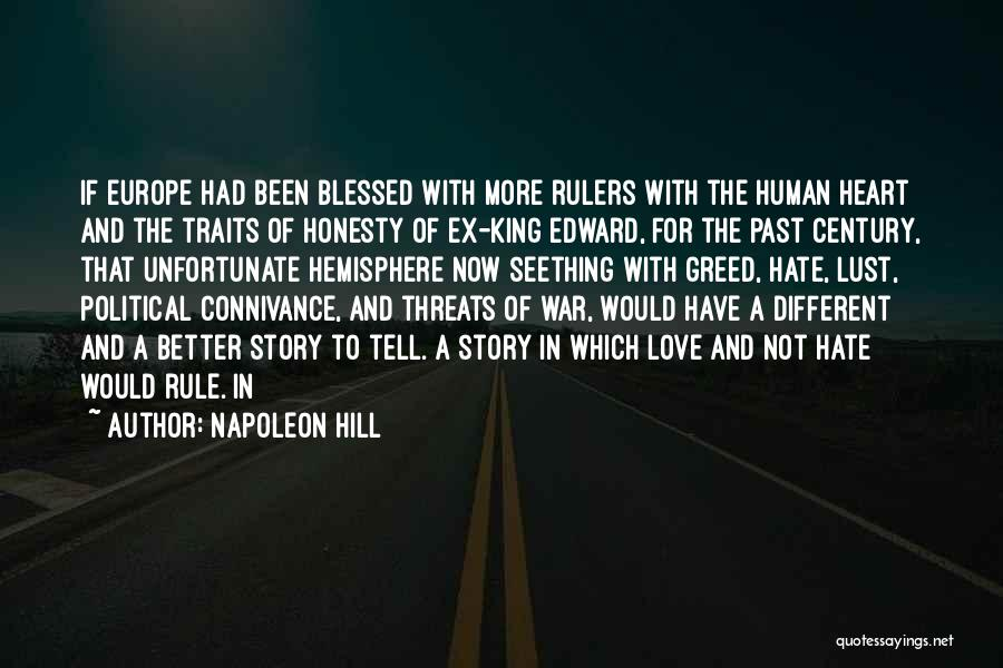 Honesty In Love Quotes By Napoleon Hill