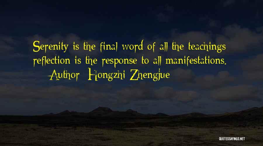 Hongzhi Zhengjue Quotes 280607