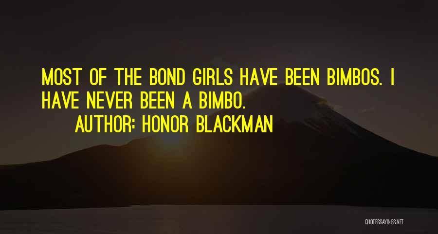 Honor Blackman Quotes 498848