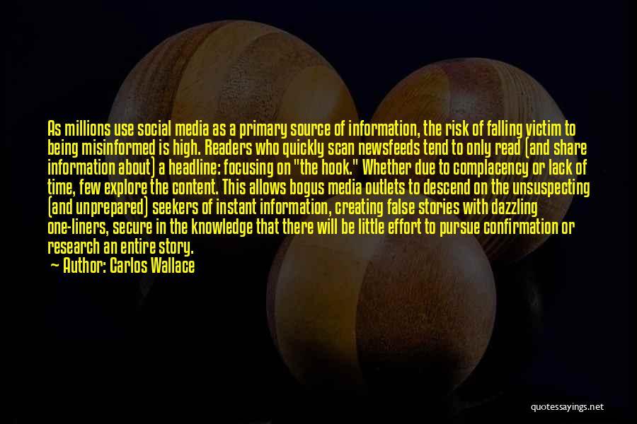 Hop Carlos Quotes By Carlos Wallace