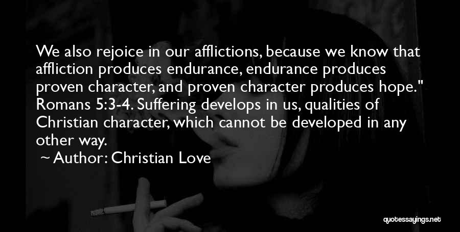 Hope And Hope Quotes By Christian Love