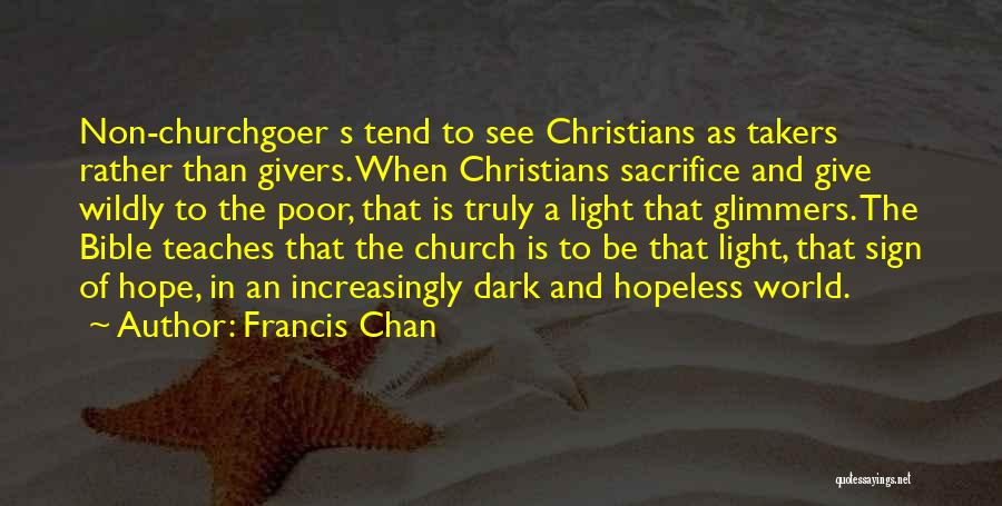 Hope And Hope Quotes By Francis Chan