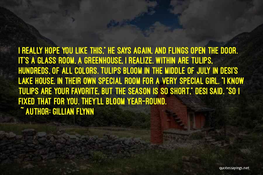 Hope And Hope Quotes By Gillian Flynn