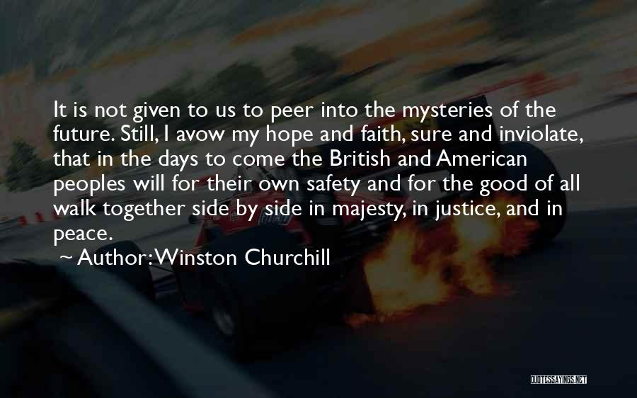 Hope And Hope Quotes By Winston Churchill