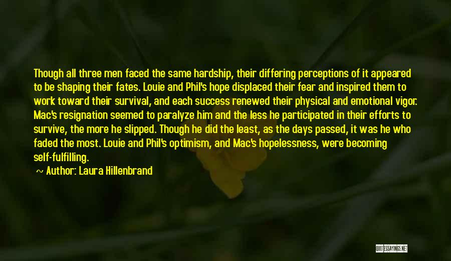 Hope And Survival Quotes By Laura Hillenbrand