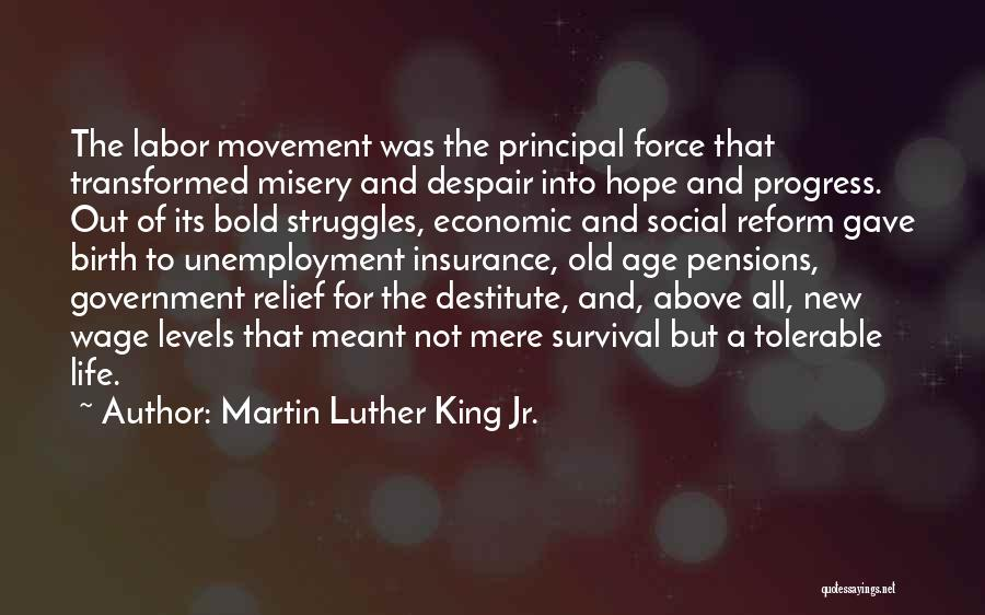 Hope And Survival Quotes By Martin Luther King Jr.