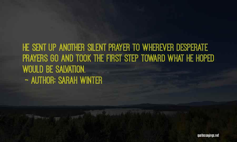 Hope And Survival Quotes By Sarah Winter