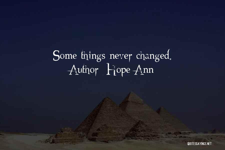 Hope Ann Quotes 1534909