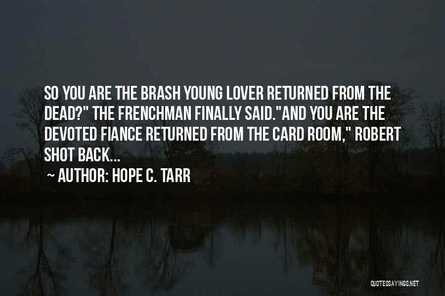 Hope C. Tarr Quotes 1978241