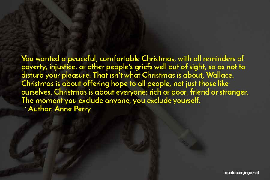 Hope Christmas Quotes By Anne Perry