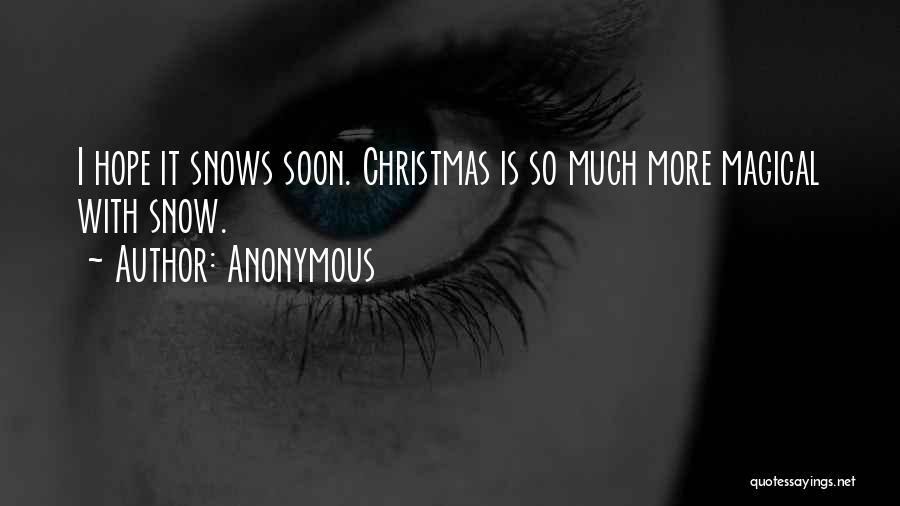Hope Christmas Quotes By Anonymous