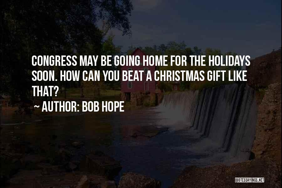 Hope Christmas Quotes By Bob Hope