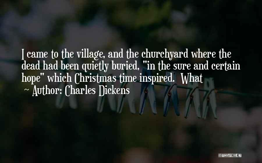Hope Christmas Quotes By Charles Dickens