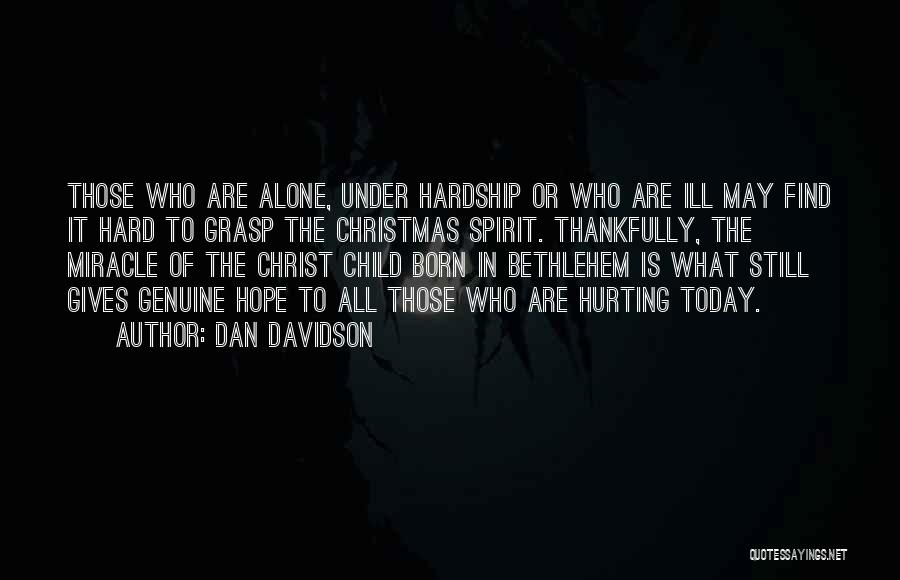 Hope Christmas Quotes By Dan Davidson