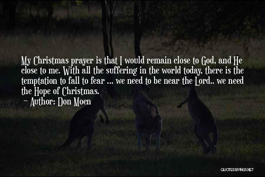 Hope Christmas Quotes By Don Moen