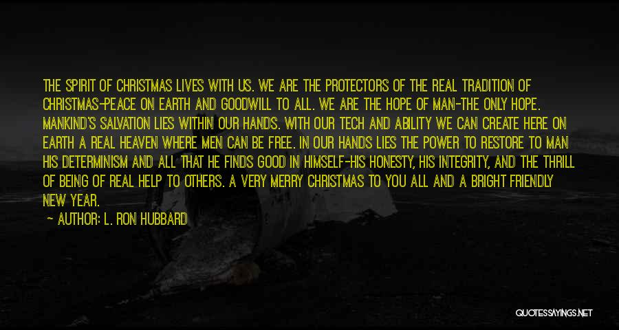 Hope Christmas Quotes By L. Ron Hubbard