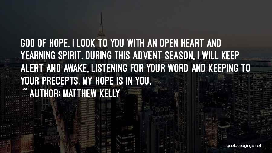 Hope Christmas Quotes By Matthew Kelly