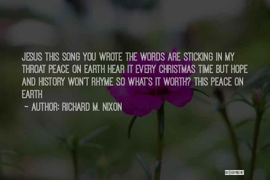 Hope Christmas Quotes By Richard M. Nixon