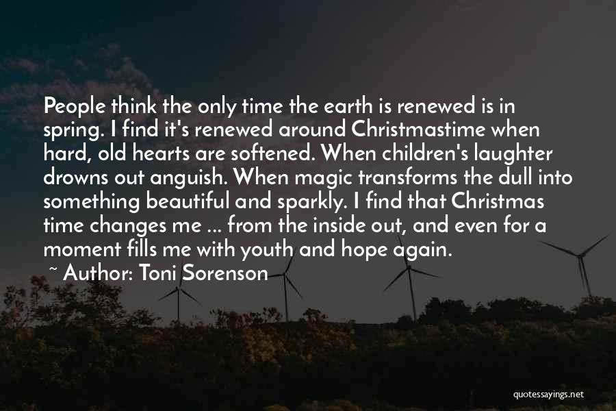 Hope Christmas Quotes By Toni Sorenson